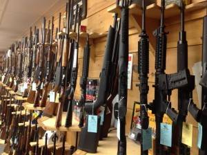 Gun shop in New Hampshire from Old Glory