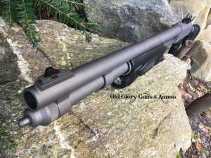 Mossberg 590A1 in Stainless Cerakote