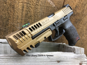 VP9 with counter weight and some custom machining.