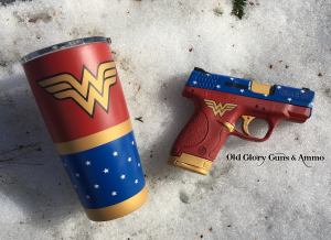 A little custom Cerakote, Wonder Woman!!!